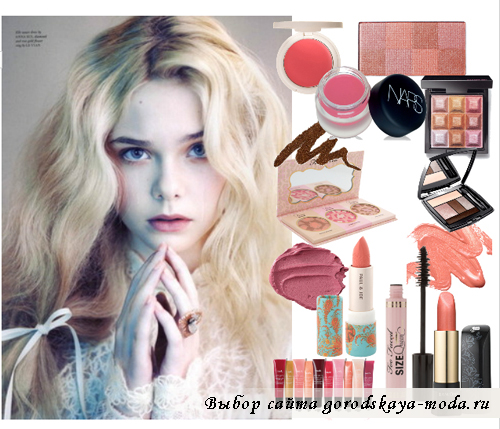 новогодний макияж для блондинок фото