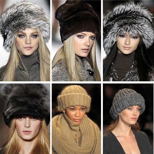 вязаные шапки красивые