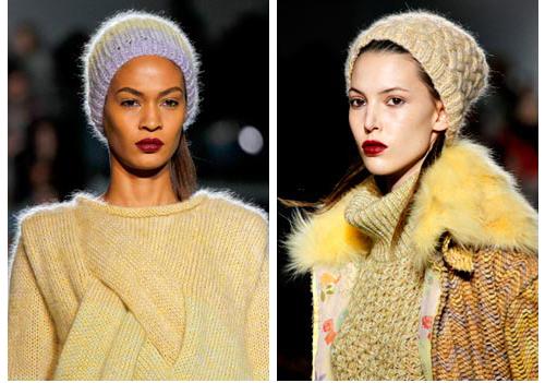модные шапки зима 2011-2012 фото