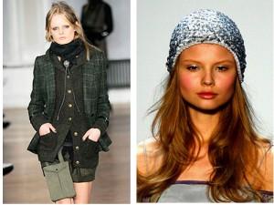 модные зимние шарфы и шапки зима 2011-2012 фото