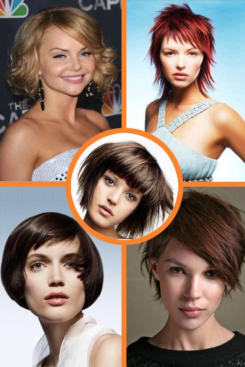 На новый год 2012 на короткие волосы
