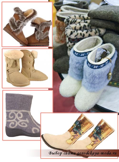 модные угги зима 2012 фото
