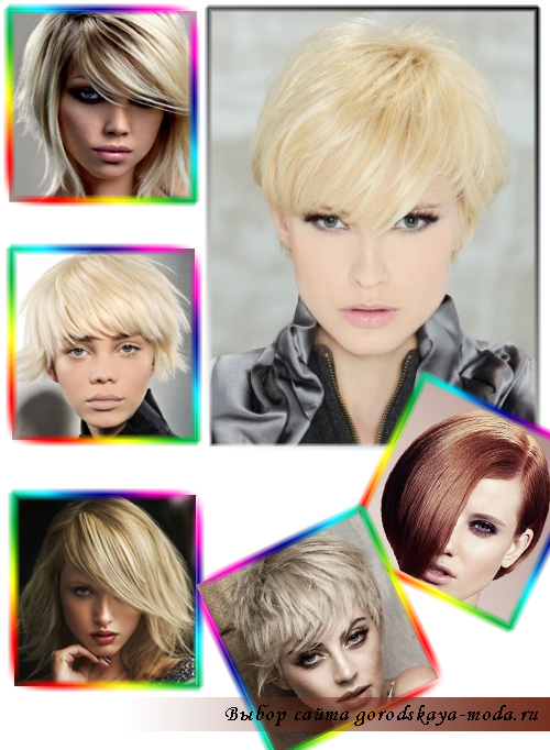 модная стрижка 2011-2012 фото