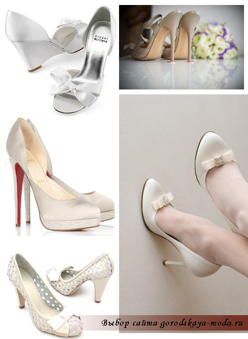 красивые свадебные туфли фото