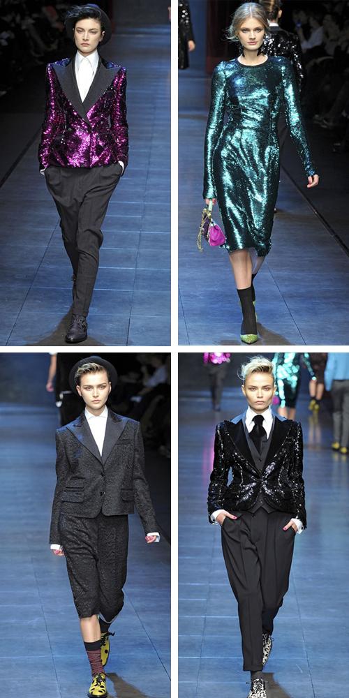 зима 2012 фото новой коллекции Dolce Gabbana