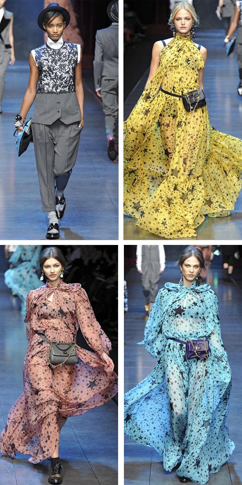 Dolce Gabbana зима 2012 фото