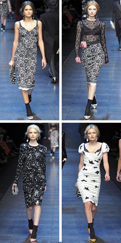 Dolce Gabbana зима 2012