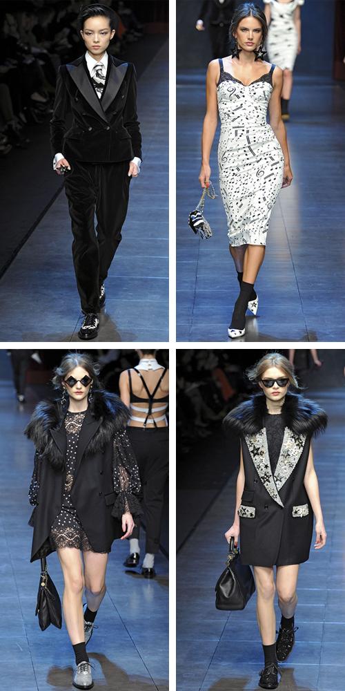 фото коллекции зима 2012 Dolce & Gabbana