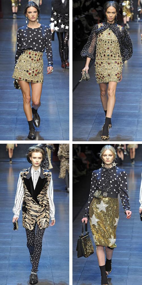 фото зимней коллекции Dolce & Gabbana