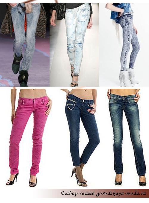 что носить с джинсами фото