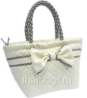 сумочка из текстиля фото
