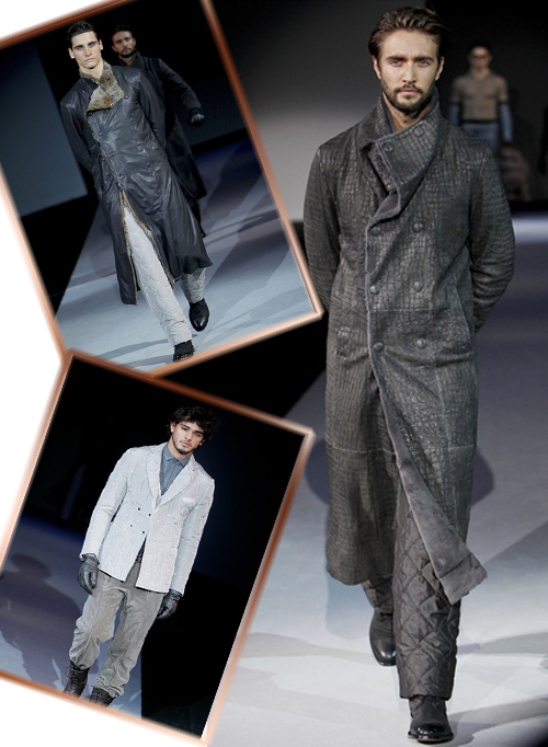 новая коллекция осень-зима 2011-2012 Giorgio Armani фото