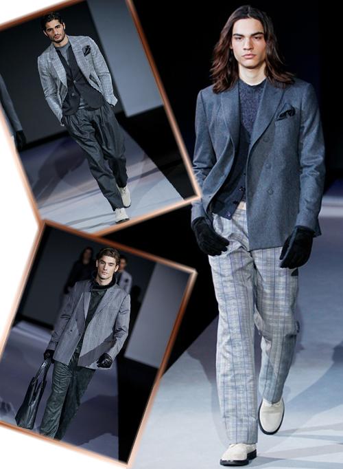Фото новой коллекции осень-зима 2011-2012 Giorgio Armani