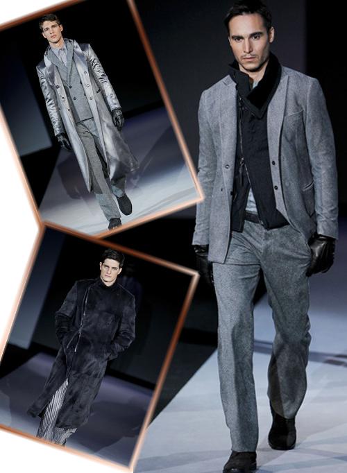 Миниатюра к статье Giorgio Armani новая коллекция осень-зима 2011-2012