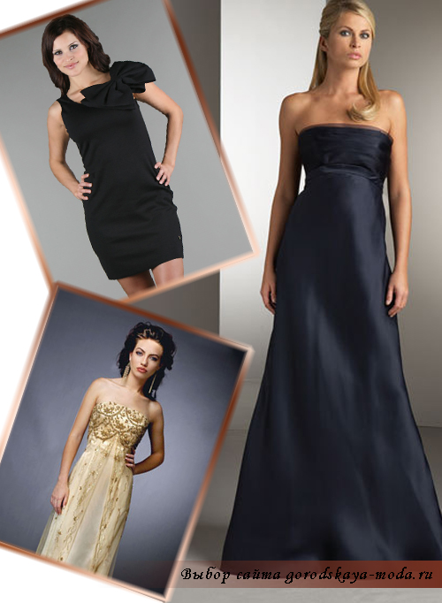 самое красивое вчернее платье фото