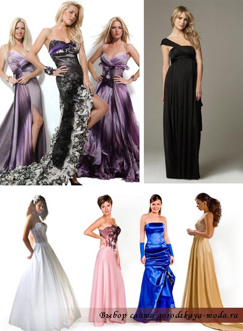 самые красивые вечерние платья фото