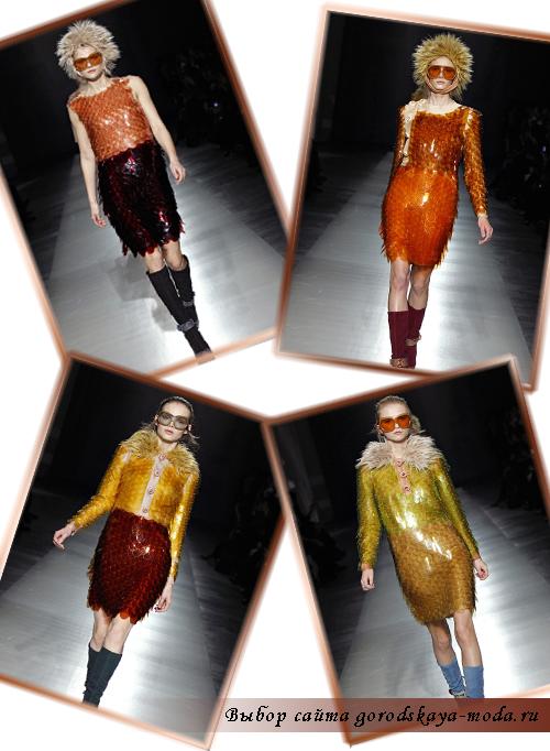 Prada новая коллекция осень-зима 2011-2012 фото