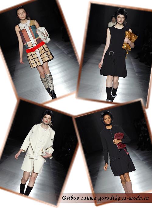 Миниатюра к статье Prada гламурная коллекция осень-зима 2011-2012