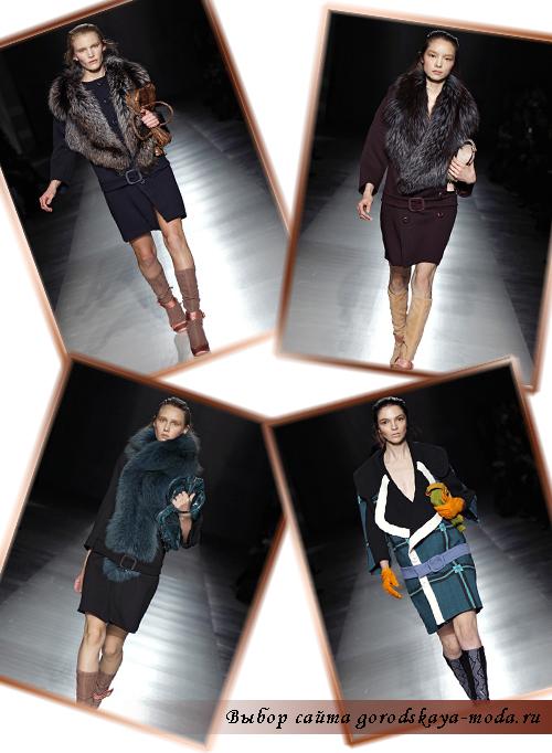 Prada новая коллекция осень-зима 2011-2012