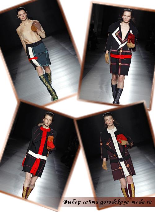 фото новой коллекции прада осень зима 2011 2012