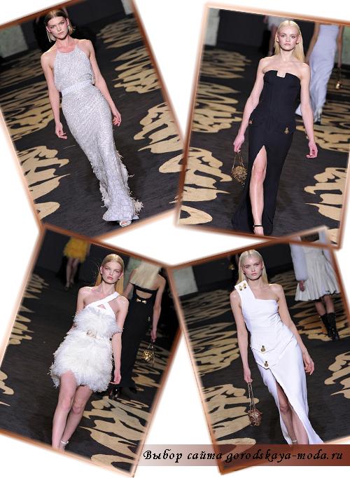 versace новая коллекция осень зима 2011 2012