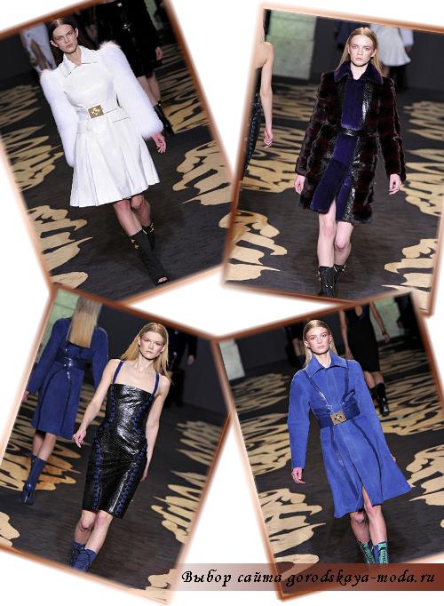 Версаче новая коллекция осень-зима 2011-2012