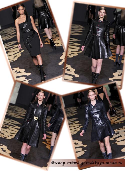 Фото коллекции осень-зима 2011-2012 от Versace