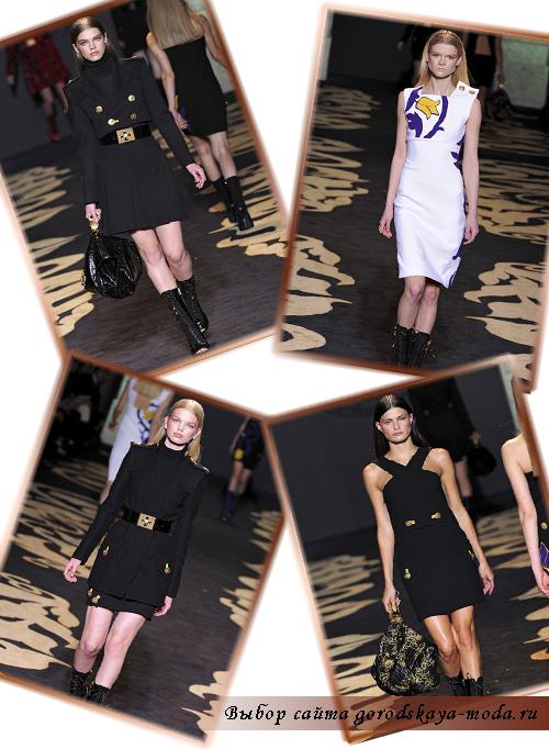 Фото новой коллекции осень-зима 2011-2012 от Versace