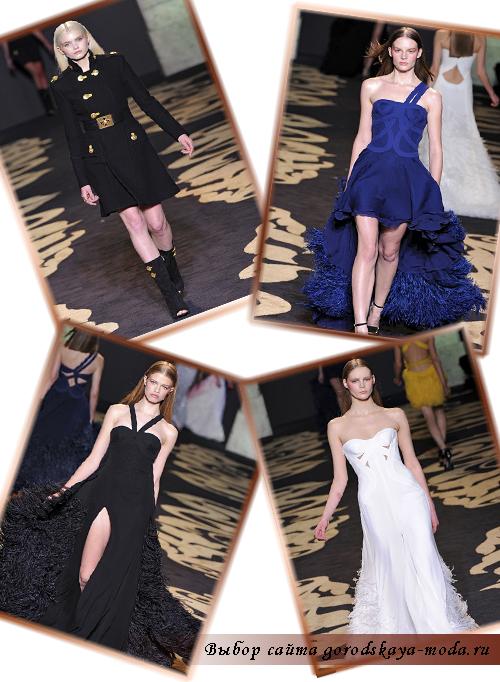 Миниатюра к статье Коллекция Versace осень-зима 2011-2012 - оригинальные решения для красивых женщин