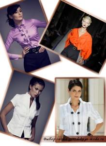 модные блузки 2012 фото