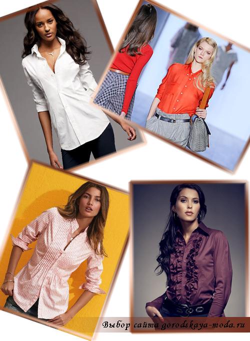 фото модных блузок