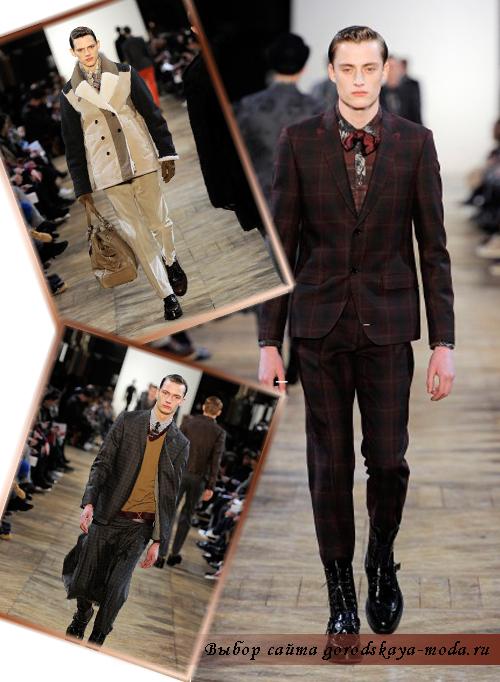 Фото мужской коллекции Kenzo осень-зима 2011-2012