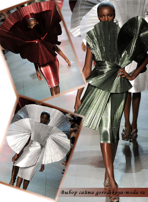 Миниатюра к статье Paco Rabanne женская коллекция весна 2012