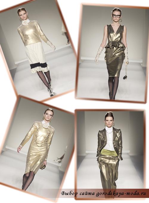 Фото коллекции Moschino осень-зима 2011-2012