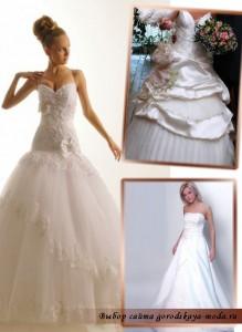 Миниатюра к статье Оригинальная коллекция свадебных платьев Оксаны Мухи