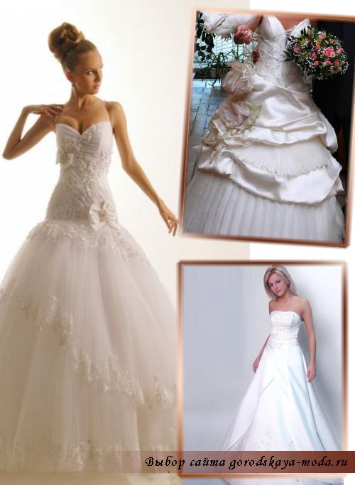 фото свадебного платья Оксаны Мухи