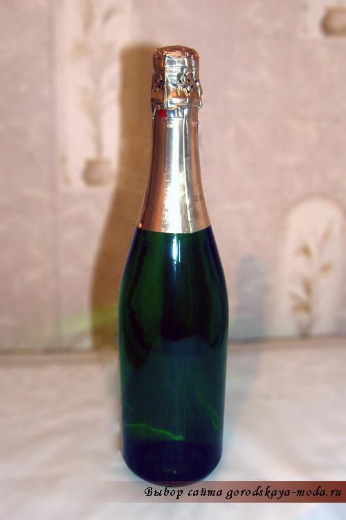декупаж шампанского фото