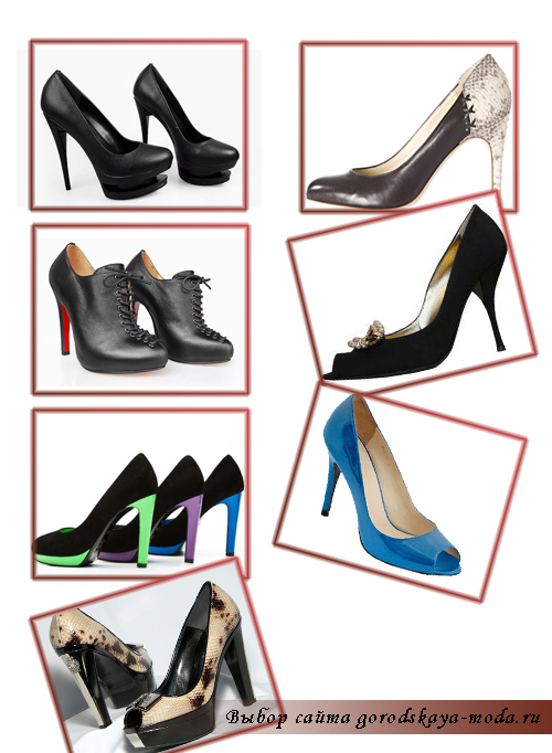 фото модных туфлей 2012