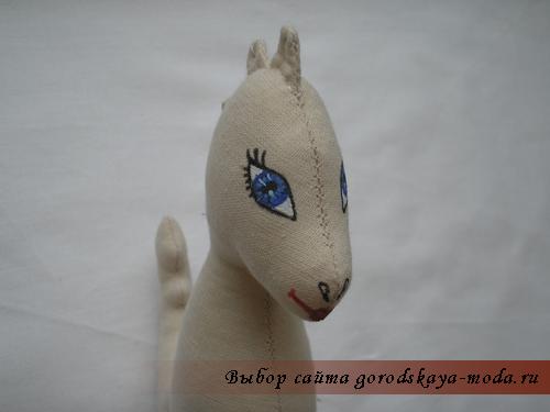 новогодняя игрушка дракон своими руками фото