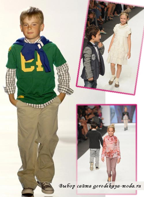 детская мода лето 2012 фото