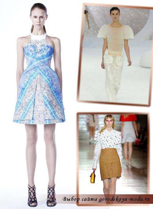 Миниатюра к статье Встречаем весну: женская мода весна-лето 2012