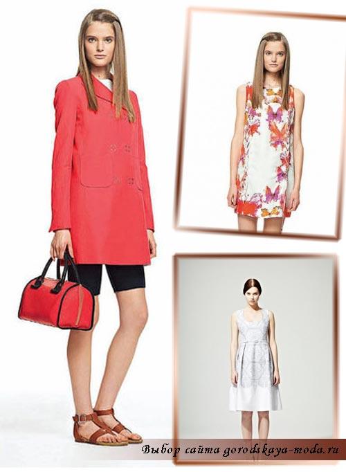 весна лето 2012 мода фото