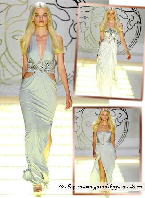 Миниатюра к статье Новая коллекция Versace весна-лето 2012