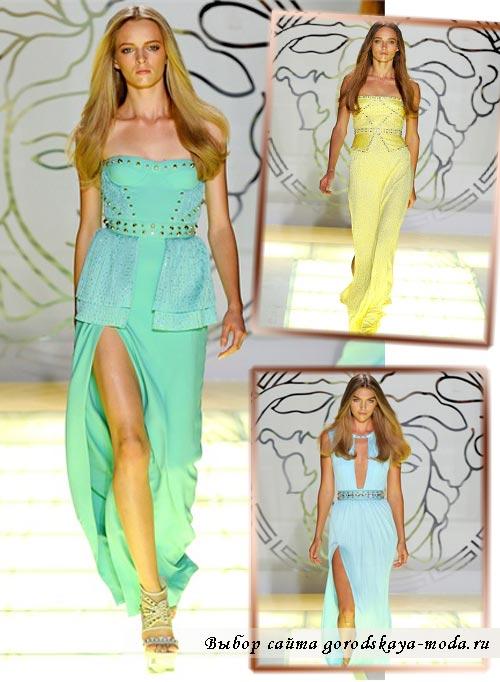 versace весна лето 2012