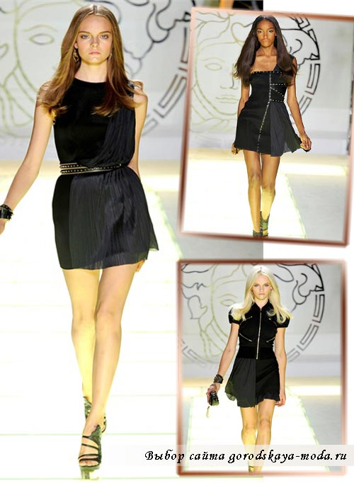 коллекция versace весна лето 2012 фото