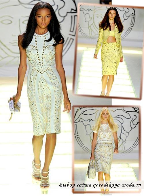 Фото коллекции Versace весна лето 2012