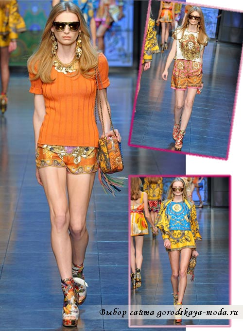 Миниатюра к статье Dolce Gabbana весна-лето 2012