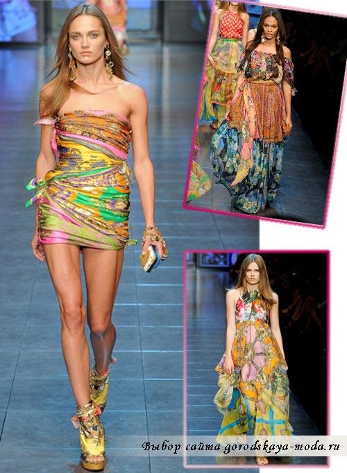 Фото коллекции Dolce Gabbana весна лето 2012