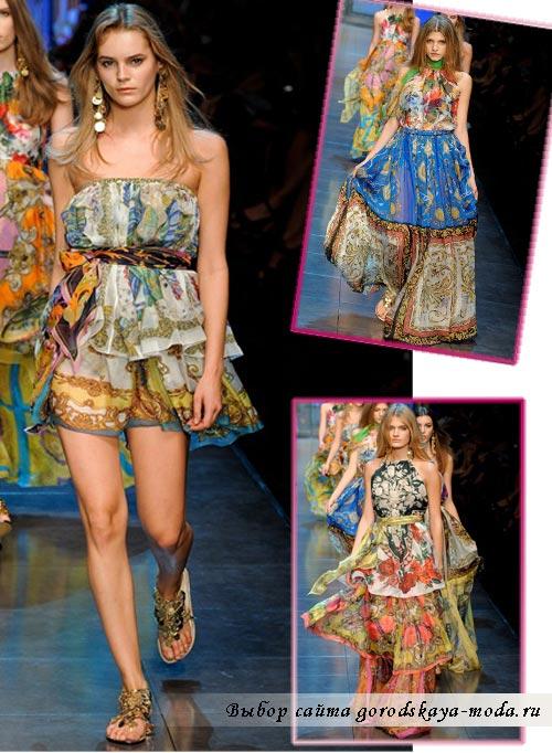 Фото Dolce Gabbana весна лето 2012