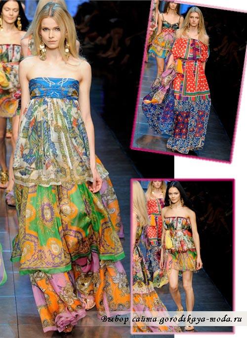 Dolce Gabbana весна лето 2012